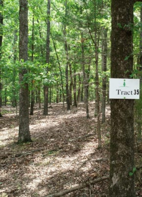 Tract 35 is 3.205 acres in size.