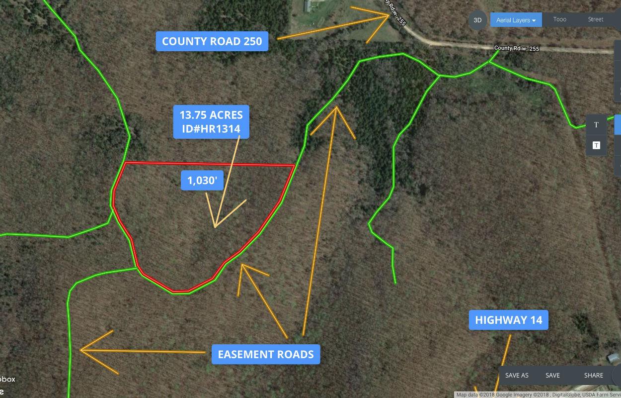 Large 13+ acres w/ deer, turkey and views! ID#HR1314 | InstantAcres