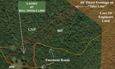 Aerial map of the property.